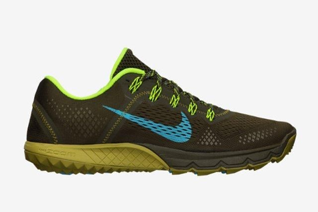 Nike Zoom Terra Kiger Brown Olive Volt 2