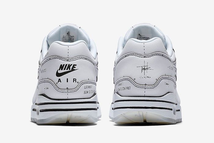 Nike Air Max 1 Sketch To Shelf Cj4286 100 Heel Shot
