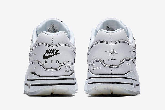 Nike Air Max 1 Sketch To Shelf Cj4286 100 Heel Shot