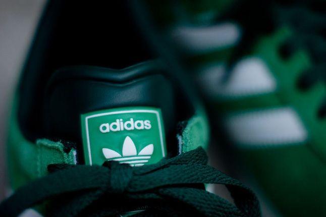 Adidas Gazelle Ii Green Tongue Detail 1