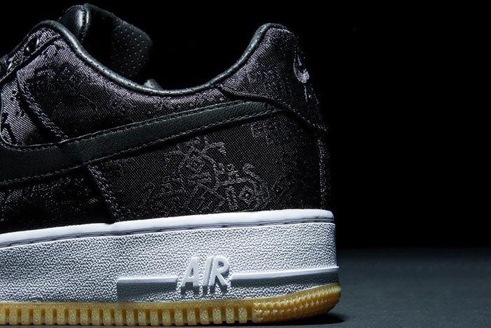 Clot Nike Air Force 1 Heel Shot