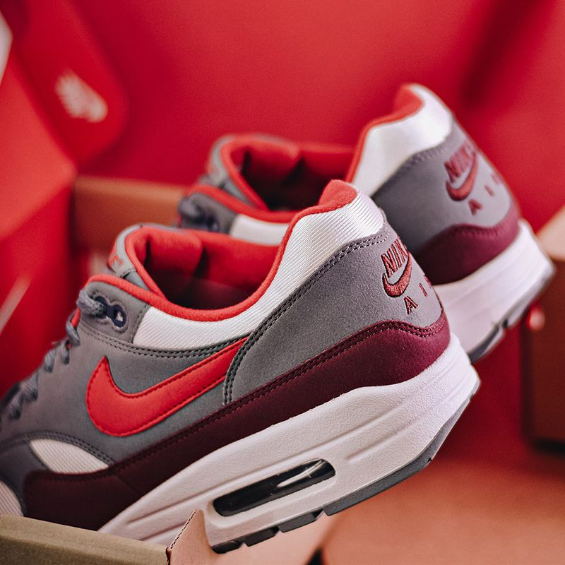 Nike's Air Max 1 (University Red/Cool