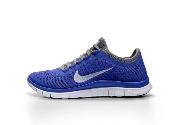 Nike Free 5 0 Blue Grey Profile 1