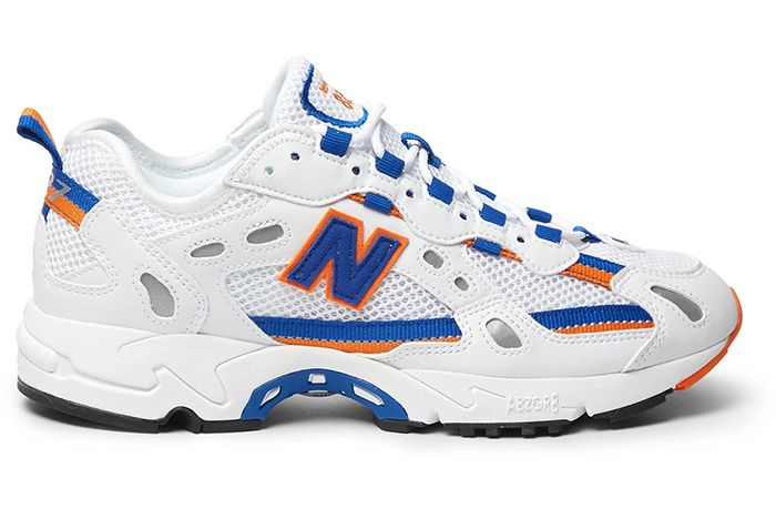 New Balance 827 Blue Orange Right 1