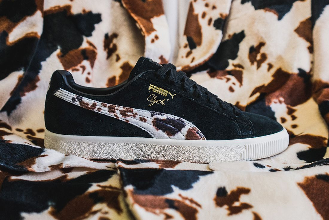 Packer X Puma Clyde Cow Suits Pack13