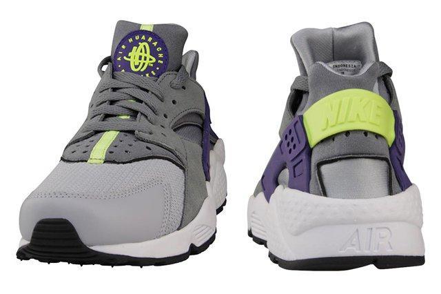 Nike Air Huarache Wolf Grey Purple