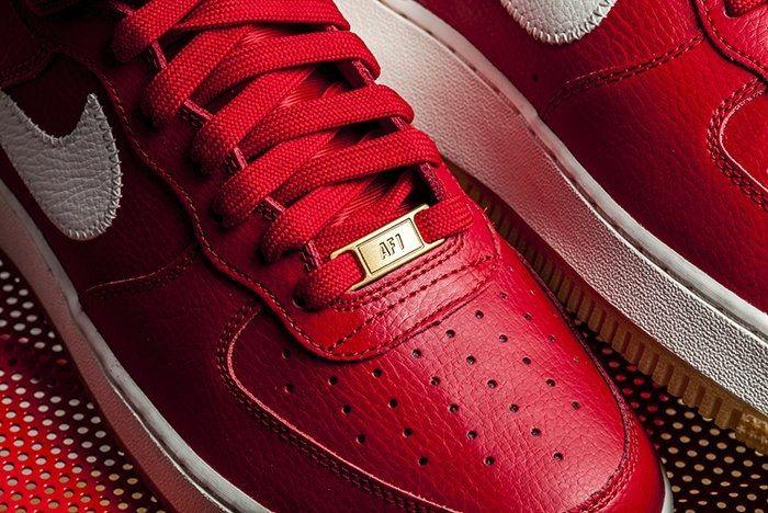 Nike Af1 High 07 Red 3