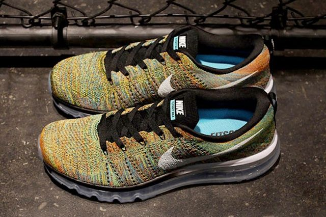 Nike Flyknit Air Max Multicolor 21