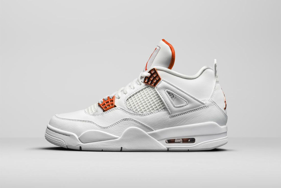 Jordan Brand Summer 2020 Air Jordan 4 Metallic Pack Orange Lateral