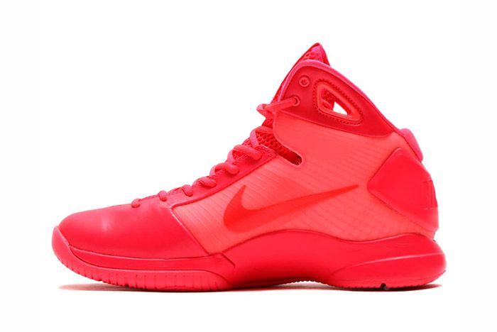 Nike Hyperdunk 2008 Retro Neon Pack Solar Red 4