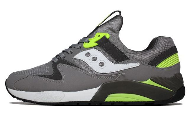 Saucony Grid 9000 Grey Side 1