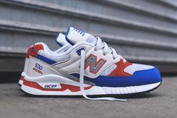 New Balance 530 Grey Blue Orange Thumb