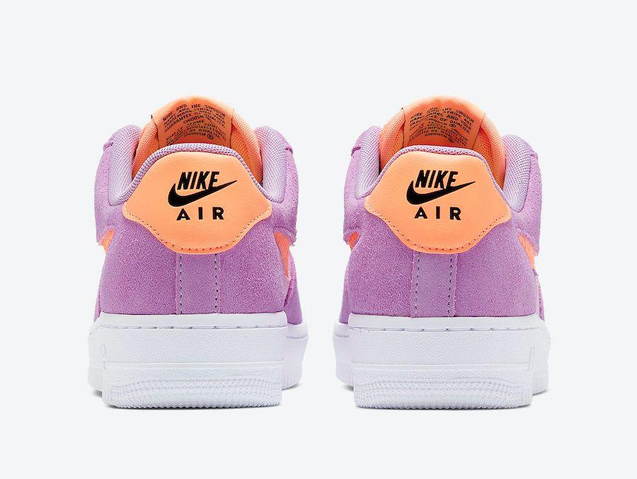Nike Air Force 1 Violet Star Heel