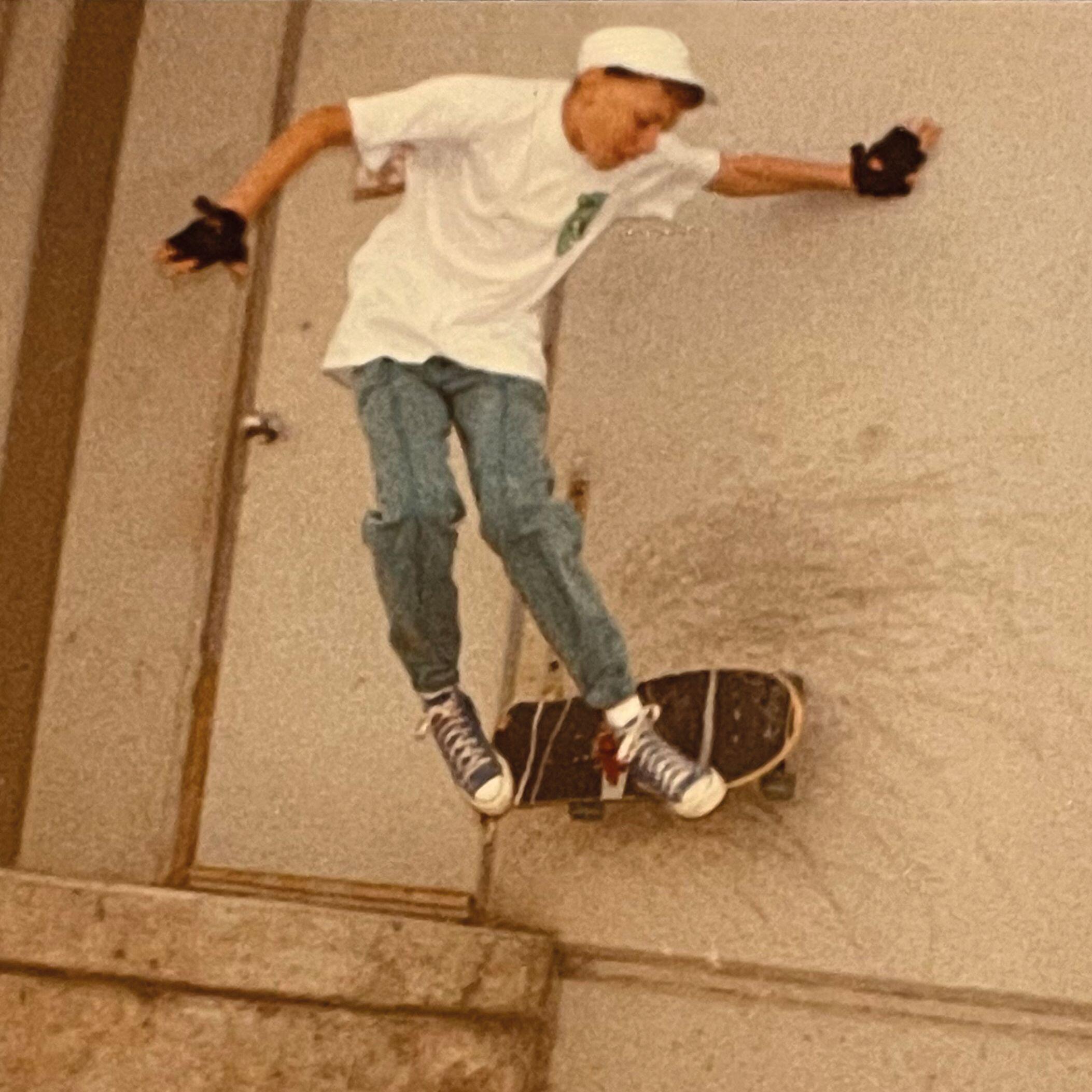 Dean Futrell skating