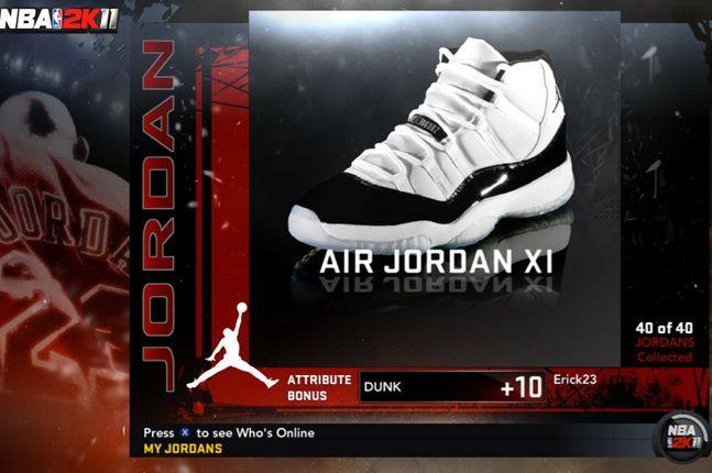 Jordan Nba 2K11 Xi 1