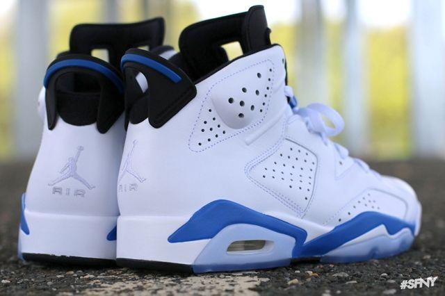 Air Jordan 6 Sport Blue 9
