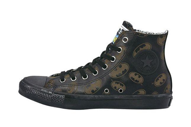 Converse Leather Allstar Bm Hi Batman Leather 1