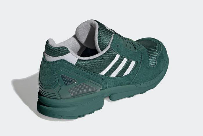 Adidas Zx 8000 Collegiate Green Heel