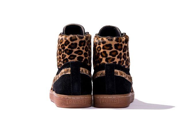 Puma Takumi Fw13 Mij Collection Suede Mid Brown Heel Profile