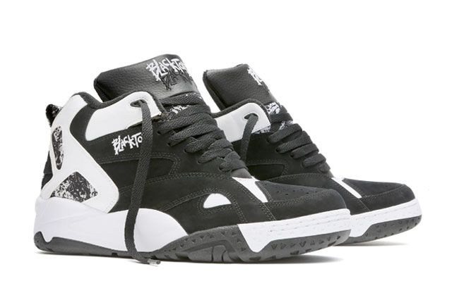 The Reebok Classic Blacktop Collection Blk