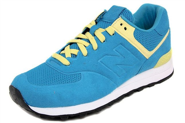 New Balance 574 Blue Yellow 03 1