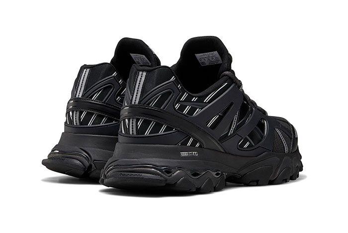 Reebok Dmx Trail Shadow Black Heel