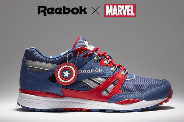 Marvel Captain America Reebok Ventilator 1 2