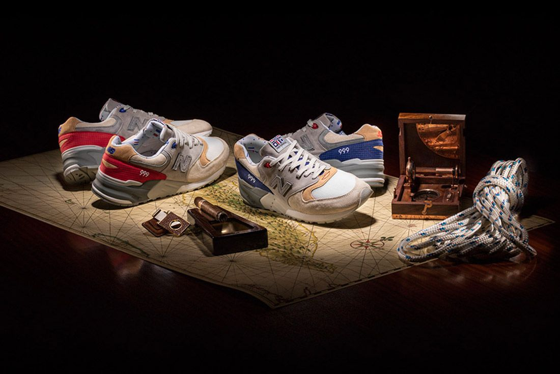 New Balance 999 Hyannis Concepts Red 1