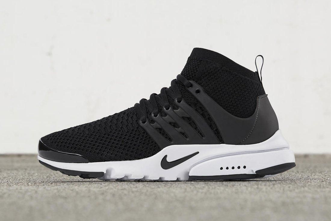 Nike Air Presto Ultra Flyknit Black White
