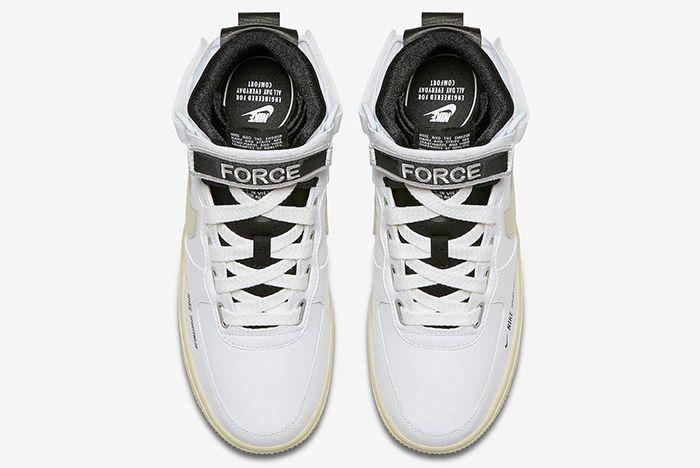 Nike Air Force 1 High Utility White Black 3