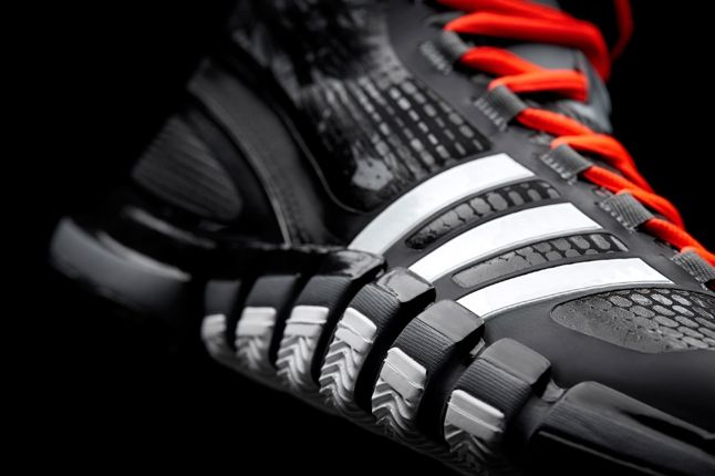 Adidas Crazyquick Black Lead Toe Detail 1