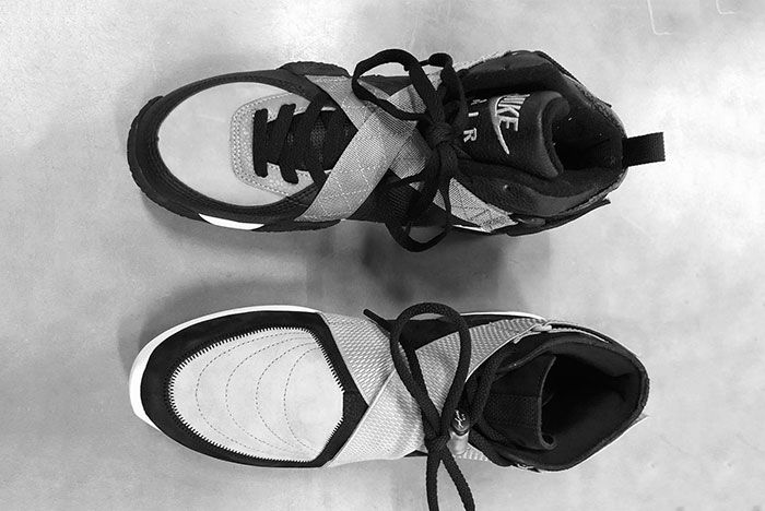 Jerry Lorenzo Fear Of God Nike Air 180 Leaked Shots Air Raid Pair3