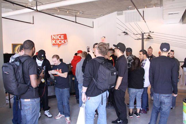 Nice Kicks Store Opening 9 1