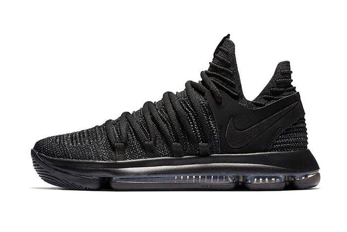 Nike Kd 10 Triple Black 1