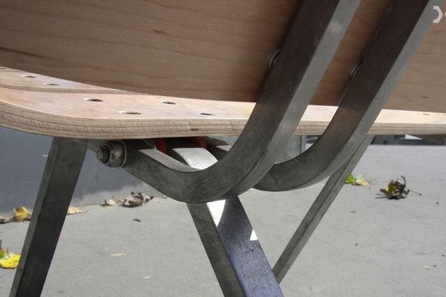 Skateboard Deck Chair 4
