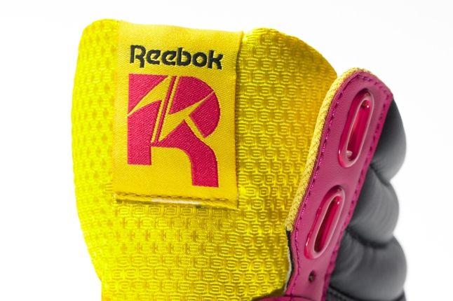 Reebok Alicia Keys Freestyle Hi Pink Black Tongue Detail 1