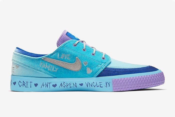 Desiree Castillo Nike Sb Zoom Janoski Doernbecher Right
