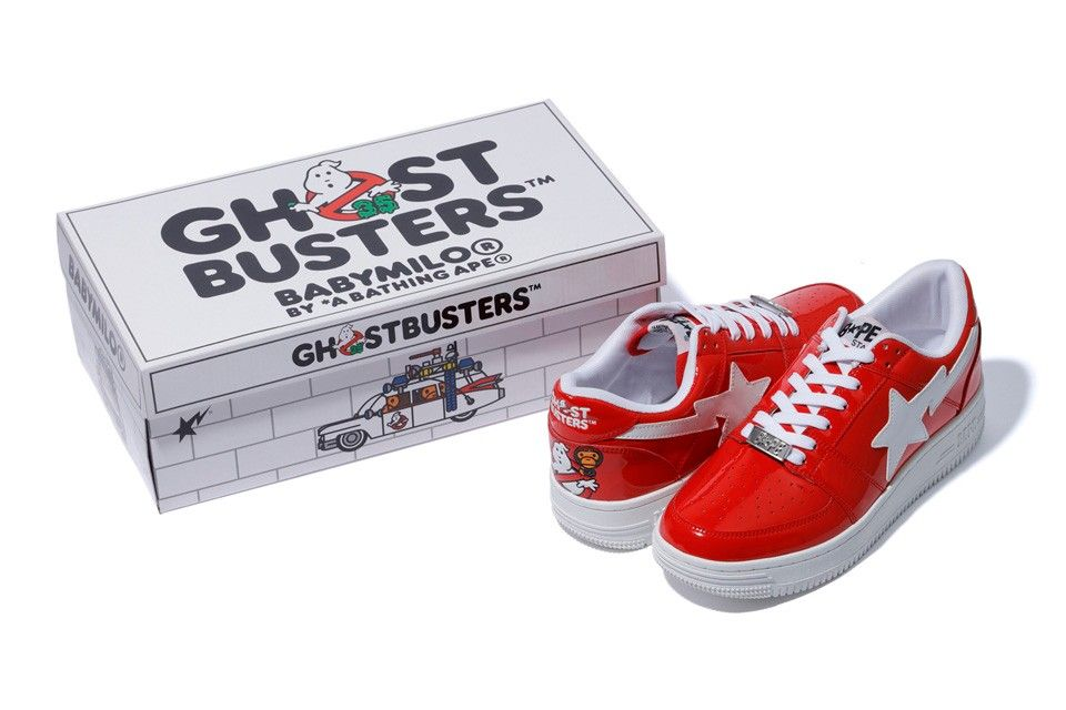 ghostbusters x BAPE STAs capsule