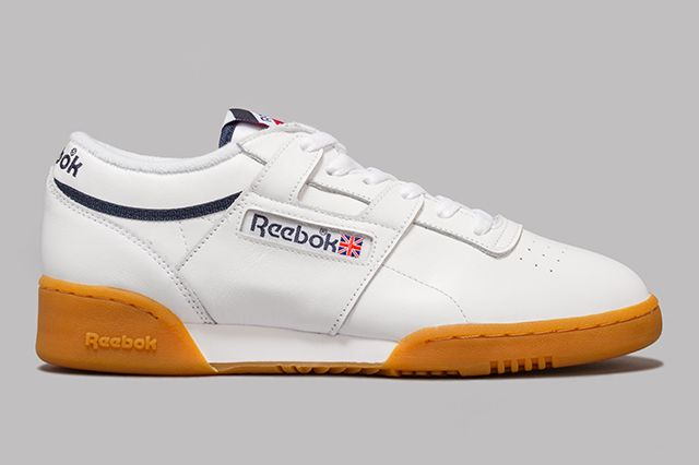 Reebok Workout White Gum