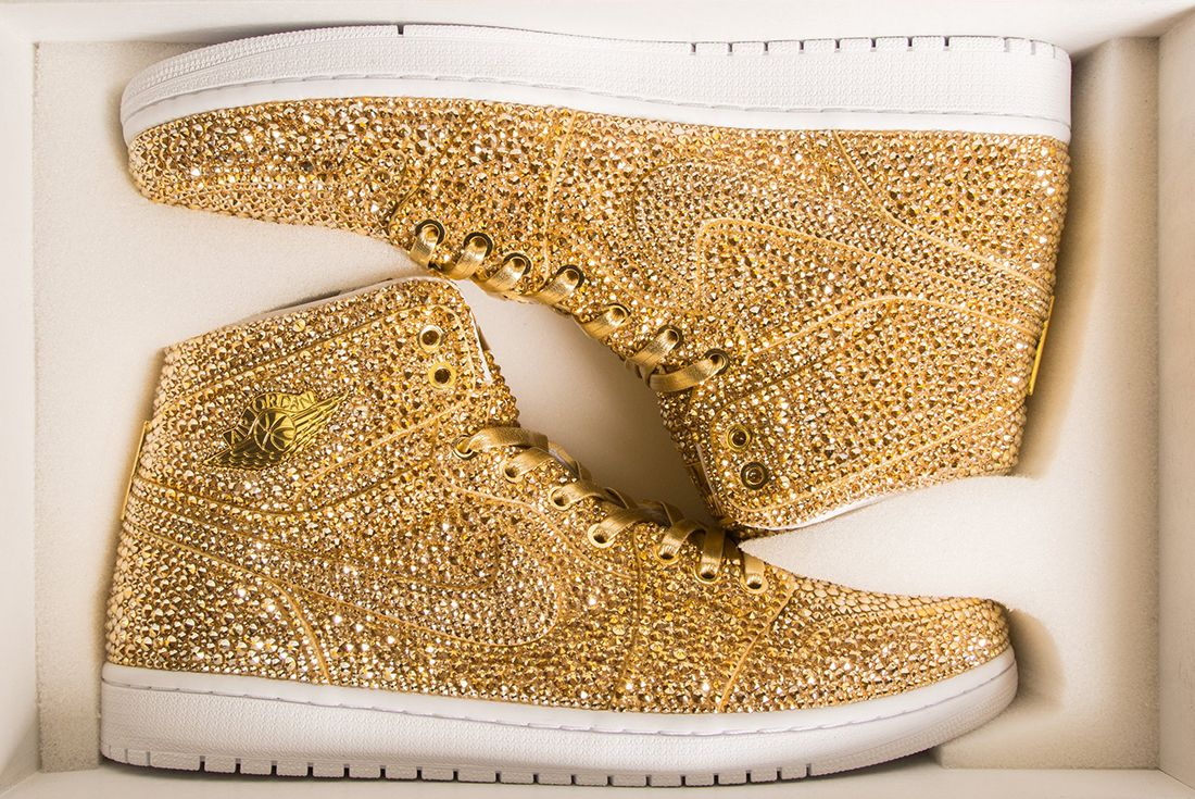 Air Jordan 1 Gold 3