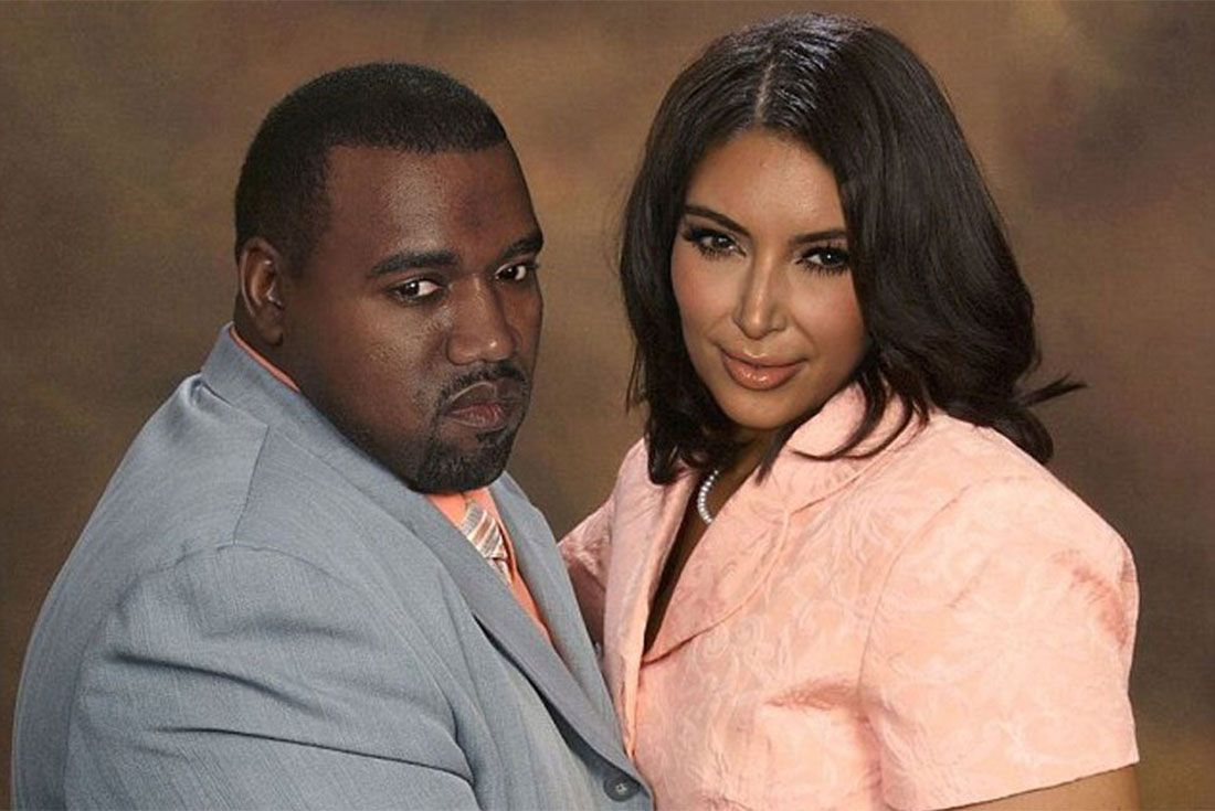 Kanye And Kim Fat