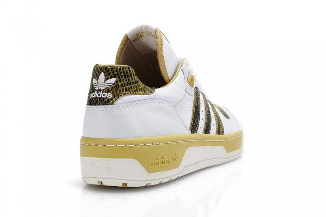 Mustard Adidas Rivalry Lo Limited Edition Quater Heel 1