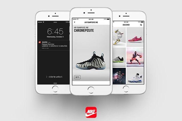 Nike Snkrs App 1