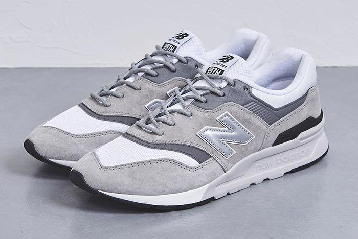 United Arrows New Balance 997 H Grey Fron Three Quarter Shot