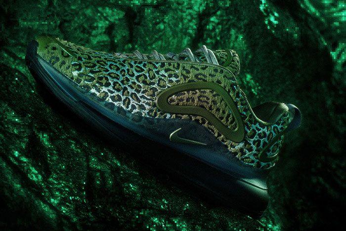 Marahishi Nike By You Air Max 720 Green
