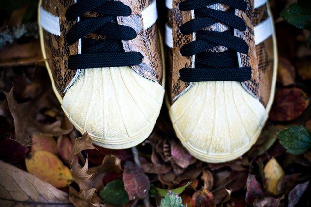 Adidas Superstar 80S Woodland Camo 3