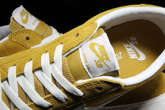 Nike Sb Bruin Premium Peat Moss Yellow 1