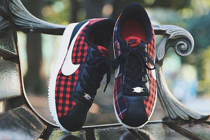Nike Cortez Plaid 3