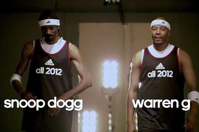 Snoop Dogg Warren G Basketball 1
