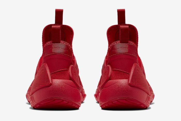 Nike Huarache Edge Txt University Red Heels